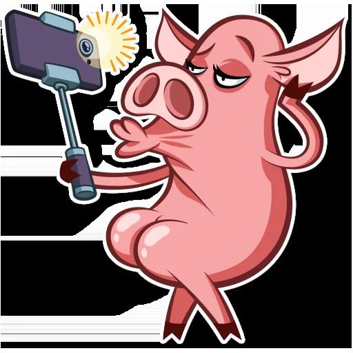 皮特猪-斗图神器 messages sticker-10