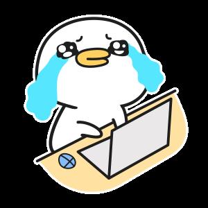 可爱动漫鸭 messages sticker-1