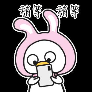 可爱动漫鸭 messages sticker-3