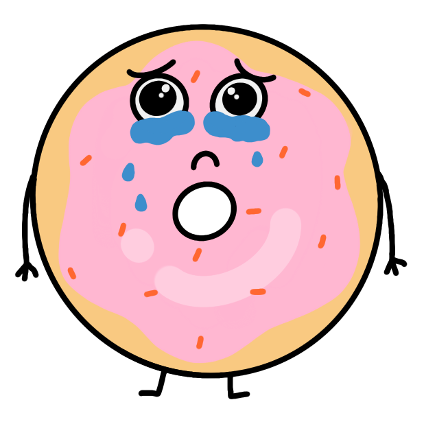 Cute Donuts Stickers messages sticker-11