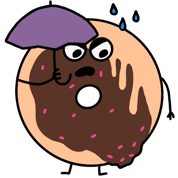 Cute Donuts Stickers messages sticker-3