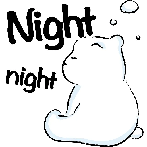 WhiteBear-sticker messages sticker-6