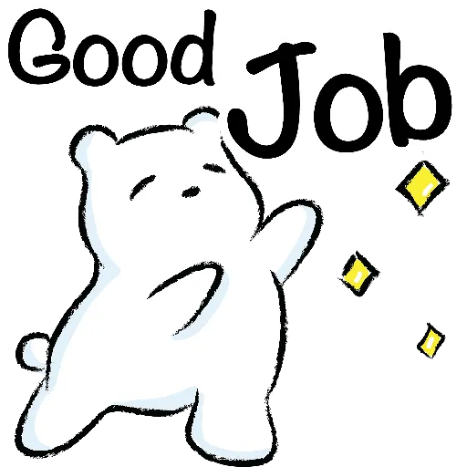 WhiteBear-sticker messages sticker-11