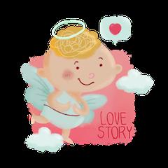 光环助手-Emoji messages sticker-11