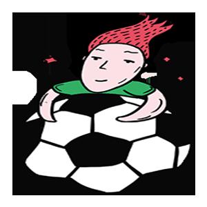 踢球少年SHOW messages sticker-6