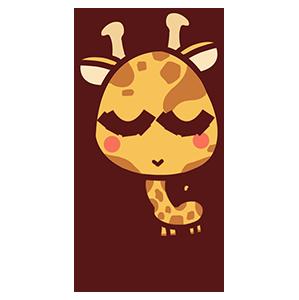 来自二次元的长颈鹿 messages sticker-4