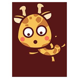 来自二次元的长颈鹿 messages sticker-6