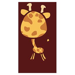 来自二次元的长颈鹿 messages sticker-0