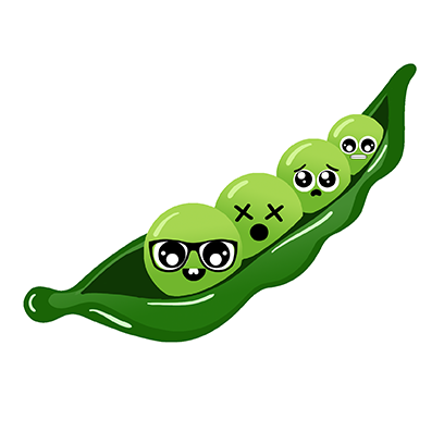 Veggies: Food Stickers messages sticker-8
