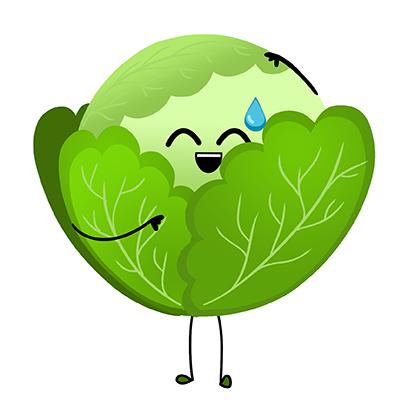 Veggies: Food Stickers messages sticker-7