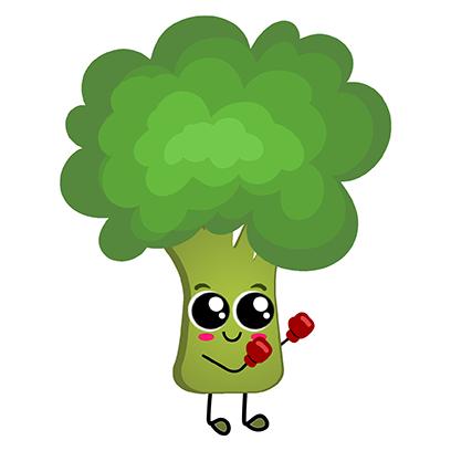 Veggies: Food Stickers messages sticker-2