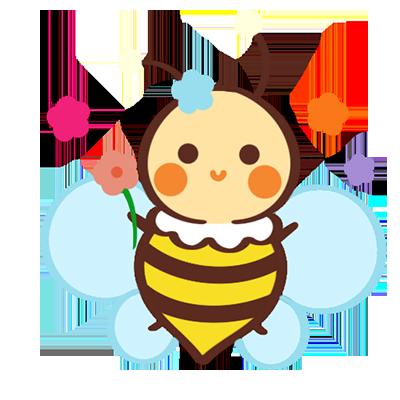 CartoonBee messages sticker-6
