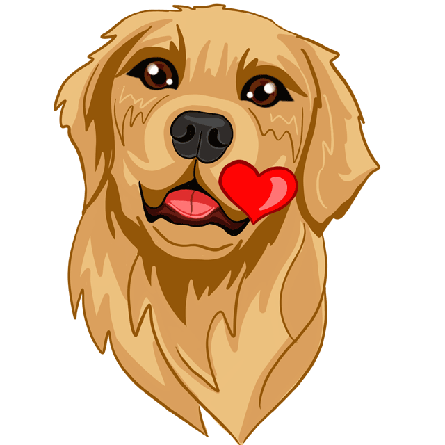 RadarMojis - Golden Retriever messages sticker-5