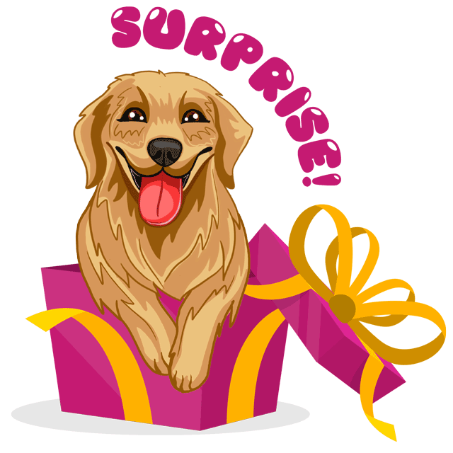 RadarMojis - Golden Retriever messages sticker-11