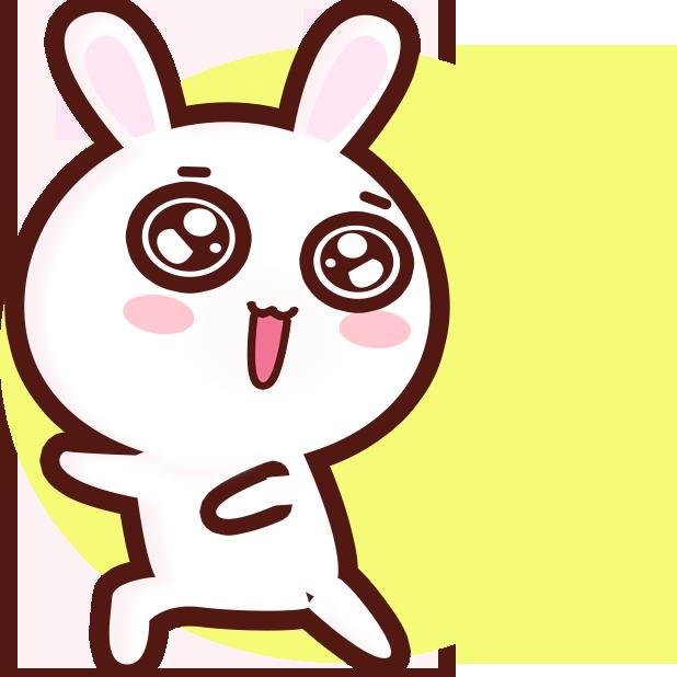 GC Rabbit messages sticker-3