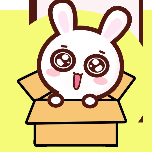 GC Rabbit messages sticker-6