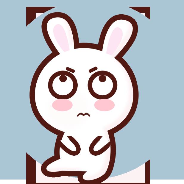 GC Rabbit messages sticker-0