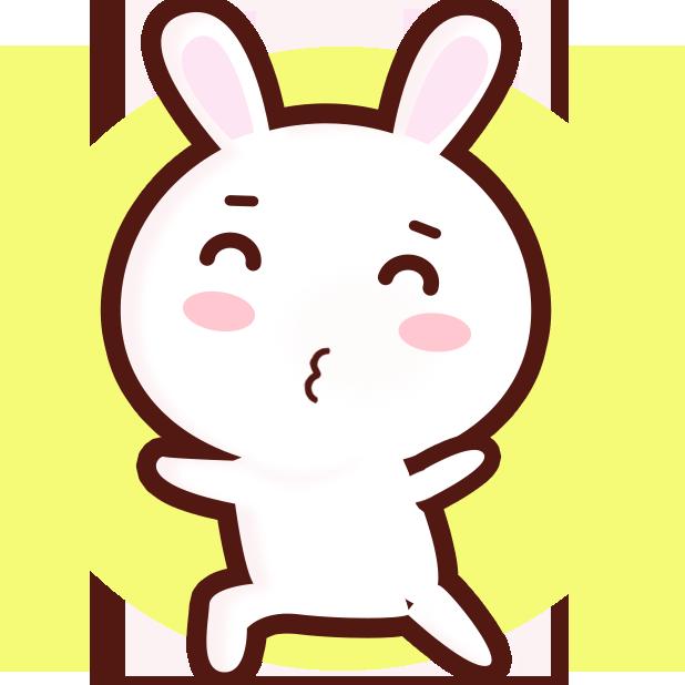 GC Rabbit messages sticker-11