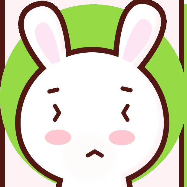 GC Rabbit messages sticker-7