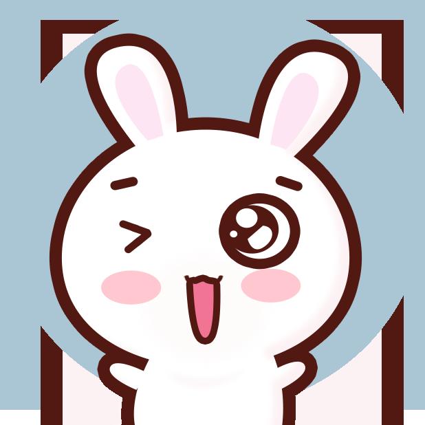 GC Rabbit messages sticker-8