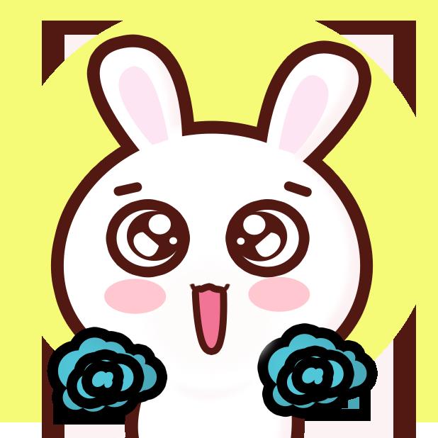 GC Rabbit messages sticker-5