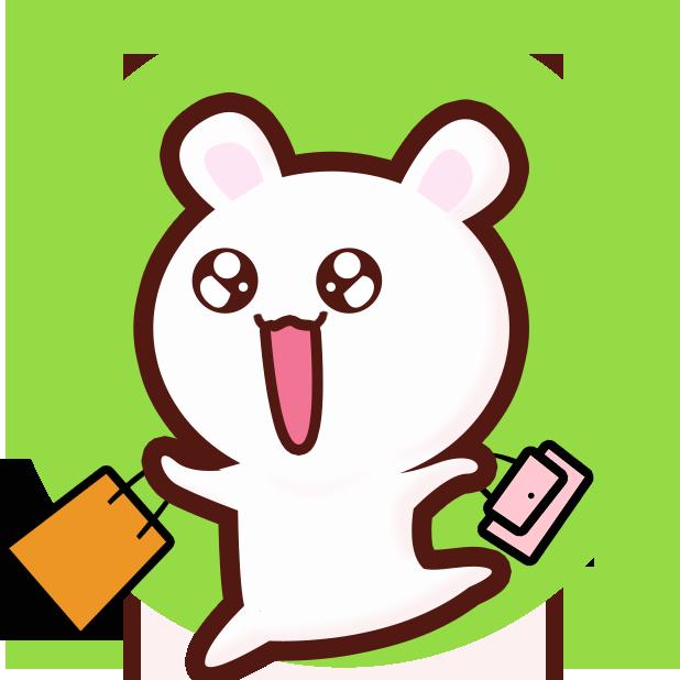 GC Rabbit messages sticker-9