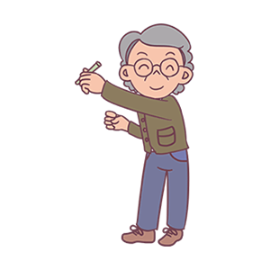 Ever-changing old man messages sticker-3