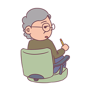 Ever-changing old man messages sticker-9