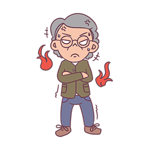 Ever-changing old man messages sticker-10