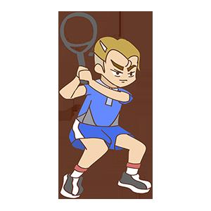 少年网球SHOW messages sticker-7