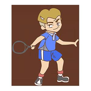 少年网球SHOW messages sticker-9