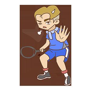 少年网球SHOW messages sticker-1