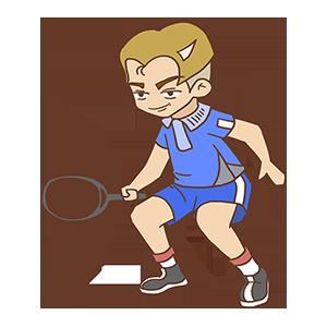 少年网球SHOW messages sticker-0