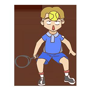少年网球SHOW messages sticker-3