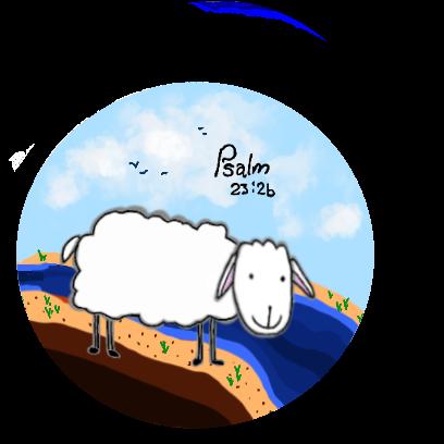 SheepsFaith: Psalm 23 messages sticker-4