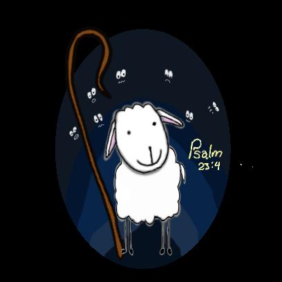 SheepsFaith: Psalm 23 messages sticker-8