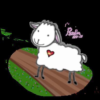 SheepsFaith: Psalm 23 messages sticker-7