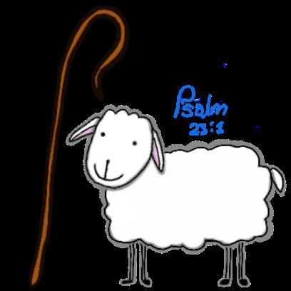 SheepsFaith: Psalm 23 messages sticker-1