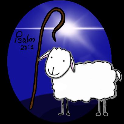 SheepsFaith: Psalm 23 messages sticker-0