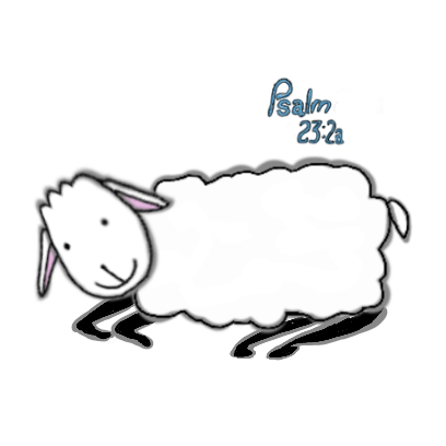 SheepsFaith: Psalm 23 messages sticker-3