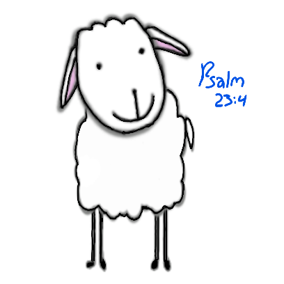 SheepsFaith: Psalm 23 messages sticker-9