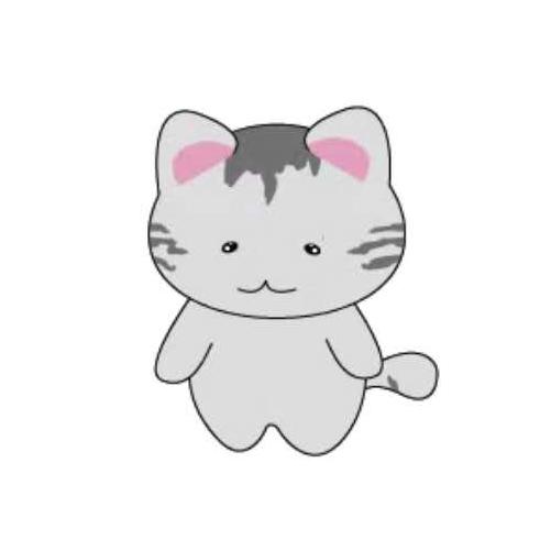 天空之猫Emoji messages sticker-10