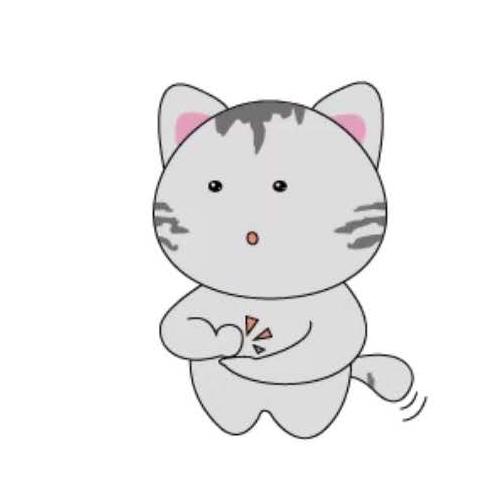 天空之猫Emoji messages sticker-6