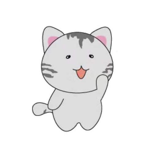 天空之猫Emoji messages sticker-7