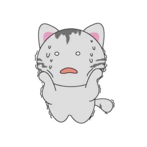 天空之猫Emoji messages sticker-9
