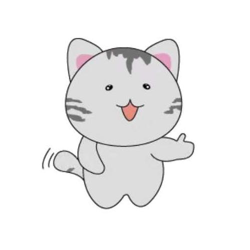 天空之猫Emoji messages sticker-11