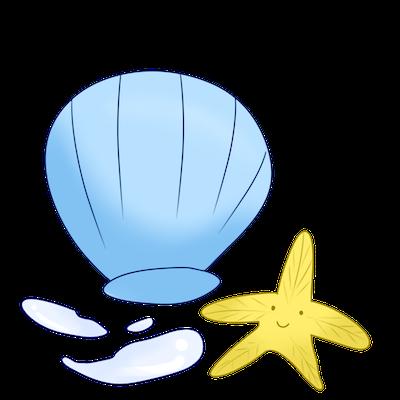 Cute Seashell Sticker messages sticker-10