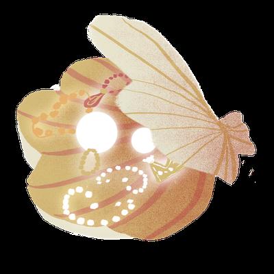 Cute Seashell Sticker messages sticker-8