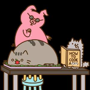 辉辉猫猫肥肥 messages sticker-10
