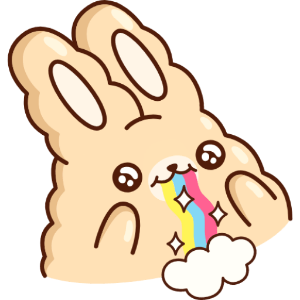 白花花大肥兔 messages sticker-1